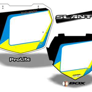 2016 SLANT 8 YELLOW STOCK